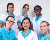 Groepsfoto tandartsenpraktijk J-Dental