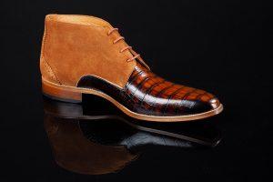 bruine heren schoen
